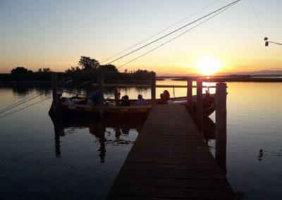 Tour notturno in barca della laguna di Venezia