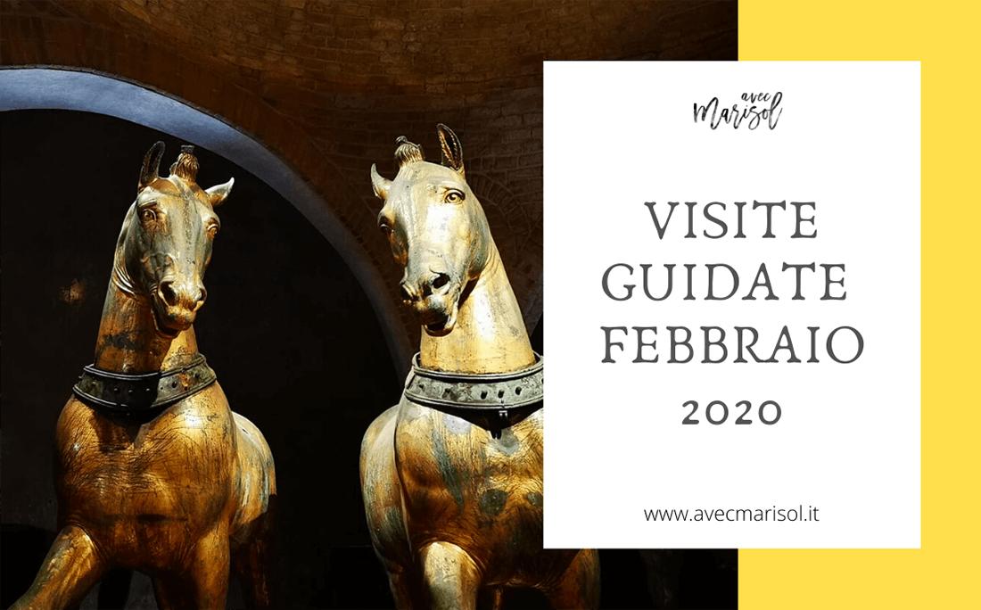 Visite guidate venezia febbraio 2020