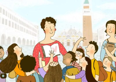 Visita guidata per bambini: la magia di Venezia
