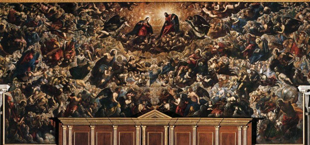 Il Paradiso del Tintoretto a Palazzo Ducale